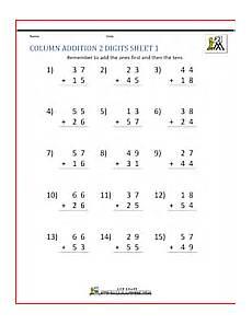 addition worksheets for grade 2 printable 9479 2 digit addition worksheets