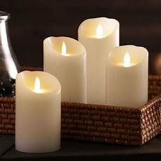 candele led iflicker elite flameless led candles at cost plus