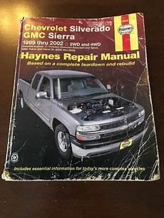 manual repair free 1999 chevrolet silverado 2500 auto manual sell chevrolet silverado gmc sierra 1999 2001 2wd 4wd haynes repair manual motorcycle in saint