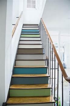 deco pour escalier et si on peignait les escaliers peinture escalier deco