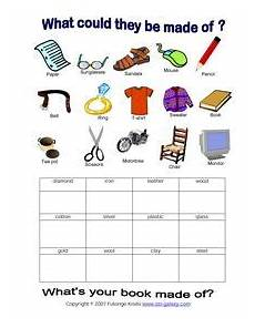 science worksheets materials 12296 esl vocabulary printable worksheets products and materials wood 1st grade