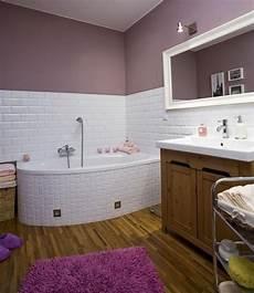 Farbe Badezimmer Streichen Flieder Lila Wei 223 E Fliesen