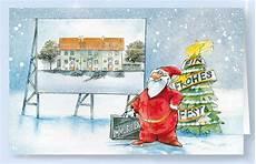 weihnachtskarte branchenkarte f 252 r immobilien und