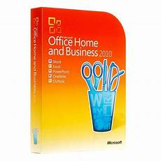 microsoft office 2010 home and business retail box