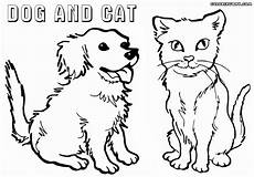 Ausmalbilder Hund Katze Pferd Cat And Coloring Pages Coloring Pages To