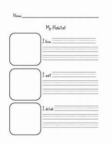 plants habitat worksheets 13564 second grade on