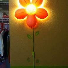 stylin up the awesome ikea flower light with some wall decals kid s room pinterest wall