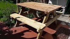 Table De Pique Nique En Bois Pour Le Jardin