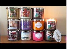 bed bath body works candles