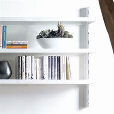 scaffali alluminio scaffale a muro big 39 in alluminio e acciaio bianco 165 x