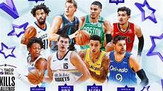 nba all star 2019 participantes en el concurso de habilidades del all star 2019 marca com