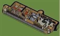 earthship house floor plans