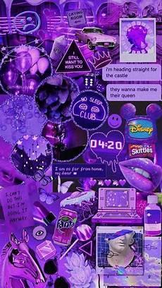 purple aesthetic wallpaper iphone violet collage lovers in 2019 purple wallpaper