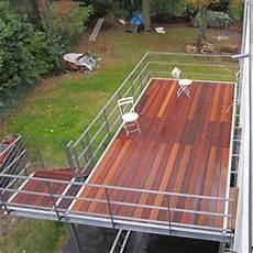 terrasse auf stahlkonstruktion holzterrassen holzcoop innenausbau gmbh aachen brand schreinerei