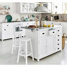 meuble de cuisine maison du monde 206 lot central en pin recycl 233 copenhague meuble de cuisine