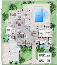 spacious contemporary florida house plan 86025bw