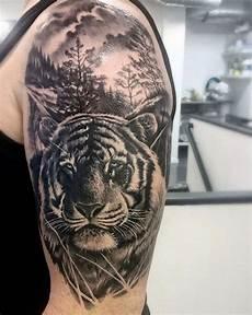 Tattoos Männer Schulter - 1001 ultra coole tiger ideen zur inspiration