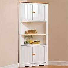 brylanehome country kitchen corner cabinet white honey 0 brylanehome http com dp