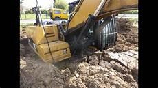 Pelle Excavatrice Caterpillar Cat 320d Enlis 233 E Et Sortie
