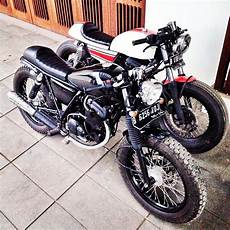 Suzuki Thunder Modif by Suzuki Thunder Modif Cafe Racer Cars Motorcycles