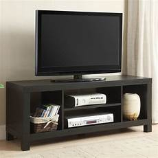tv stand entertainment center home theater media storage wood console black inch ebay