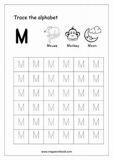 letter m handwriting worksheets 24300 20 instructive letter m worksheets for toddlers kittybabylove