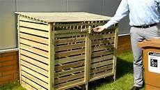 M 252 Lltonnenbox Aus Holz Quot Oskar Quot F 252 R 2 Tonnen