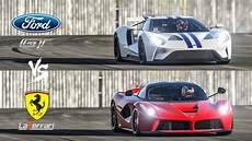 Ford V - 2017 ford gt vs laferrari top gear track battle