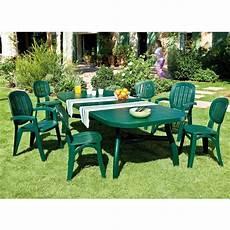 table et chaise de jardin plastique table corfu vert tables de jardin tables chaises