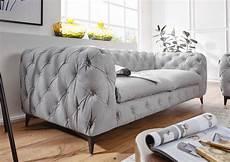 hellgraue couch sofa 3 sitzer 225x97x73 hellgrau chelsea 139