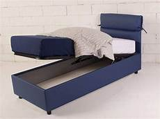strutture letti singoli single upholstered bed ribbony