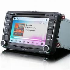 vw golf mk5 mk6 7 quot car radio stereo satnav bluetooth ipod