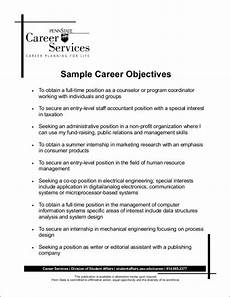 free does a resume need an objective difference sles