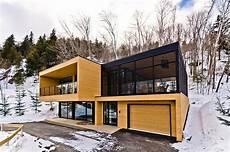 chalet design contemporain contemporary mountain condominium chalets