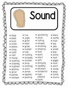 sensory words book by my teaching heart teachers pay teachers