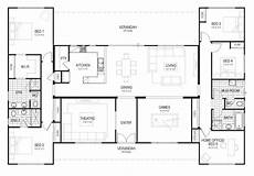 u shaped house plans single level floor plan friday u shaped 5 bedroom family home i m a