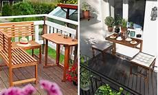 balkonmöbel kleiner balkon kleinen balkon optimal nutzen