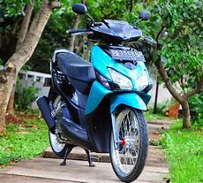 Modifikasi Motor Vario Techno 125 by Modifikasi Motor Vario Techno Velg 17 Thecitycyclist
