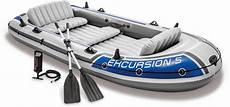 intex schlauchboot 187 excursion 5 171 set mit 2 paddeln und