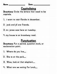 capitalization and punctuation worksheets for grade 3 20998 1000 images about el vaap on punctuation worksheets and reading resources