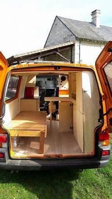 Fourgon Amenage Volkswagen T4 Car 車内装 モーターホーム