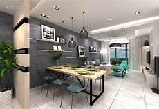 Modern Dining Room Apartment Design Ideas Photos