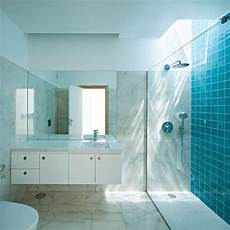 Blue Tiled Bathroom Pictures