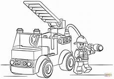 Malvorlagen Lego Feuerwehr Lego Truck Coloring Page Free Printable Coloring Pages