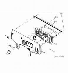 ge electric dryer parts diagram ge model gfdn240el1ww residential dryer genuine parts