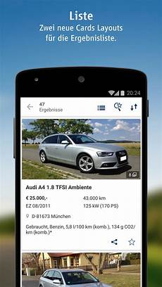 autoscout24 mobile autosuche de apps f 252 r android