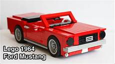 lego 1 18 scale 1964 ford mustang convertible