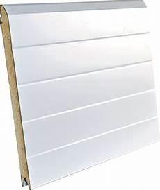remplacement panneau porte pvc panneaux portes de garage