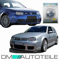 vw golf 4 iv mk4 r32 sport front bumper rs race grill abs
