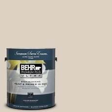 behr premium plus ultra 1 gal pwn 42 parisian taupe satin enamel interior paint 775001 the
